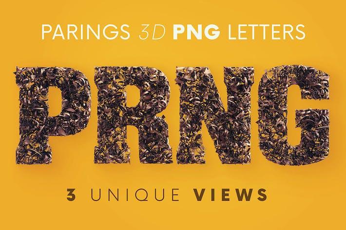 Parings - 3D Lettering