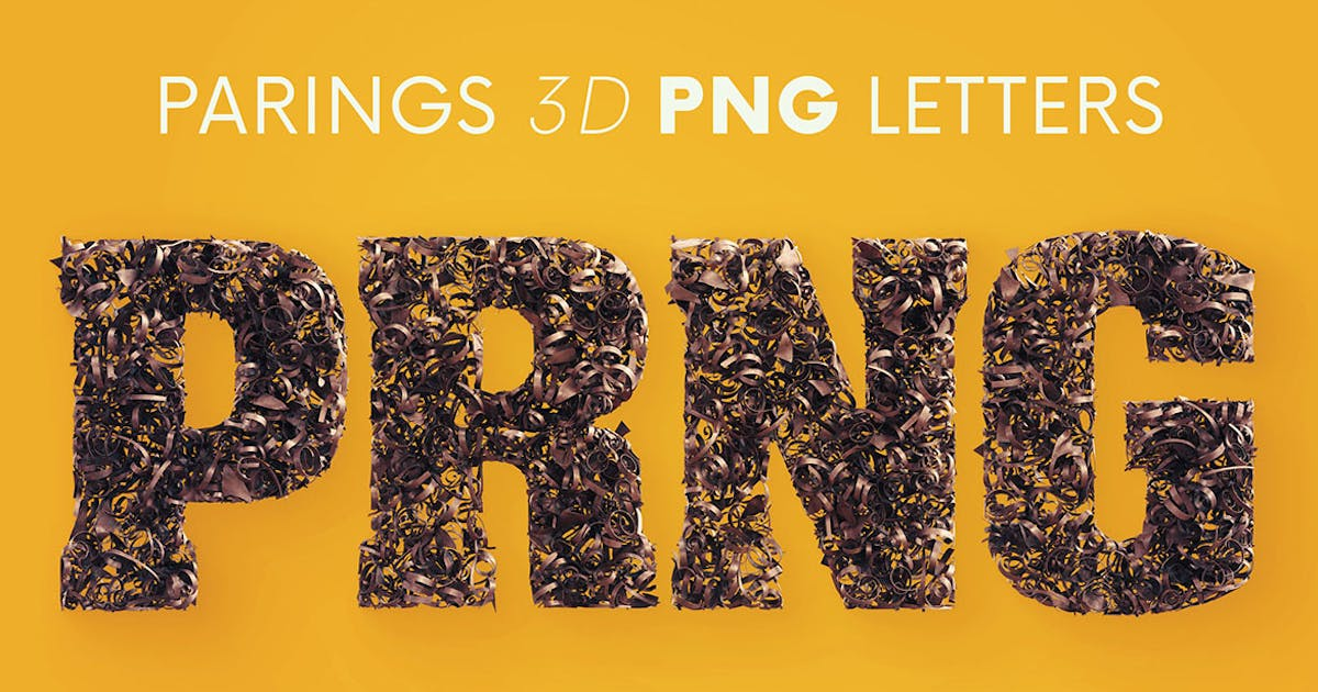 Download Parings - 3D Lettering by cruzine