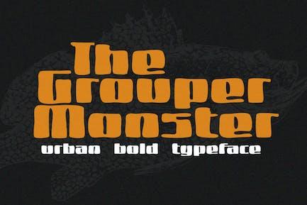 Grouper Monster Font