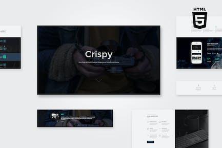 Crispy   One & Multi Page HTML