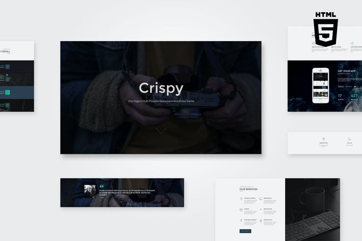 Thumbnail for Crispy | One & Multi Page HTML