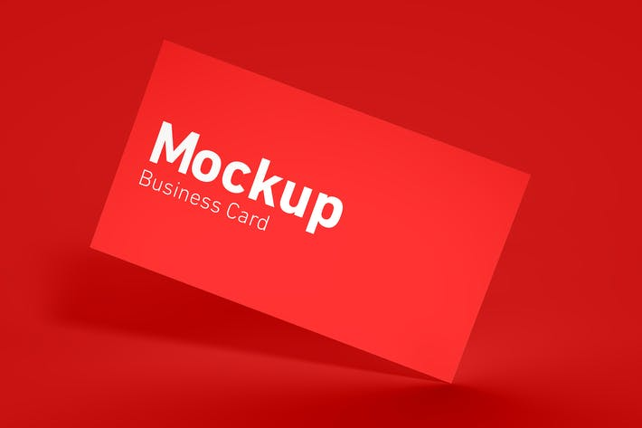 Cover Image For Simple Business Card Mockup