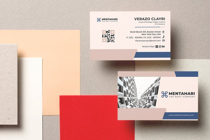 Thumbnail for Mentahari Business Card