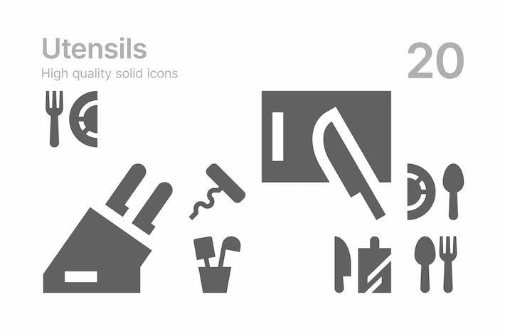 Thumbnail for Utensil Icons