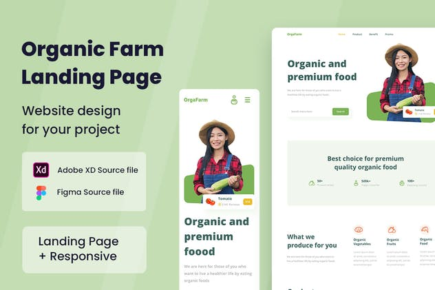 Organic Farm Web Design