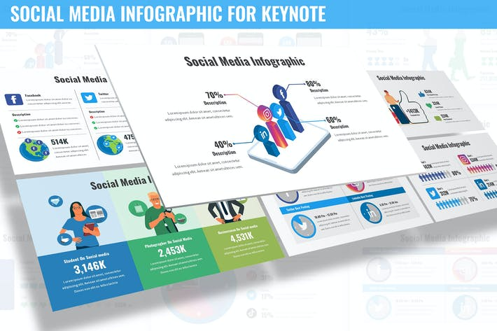 Social Media Infographic for Keynote