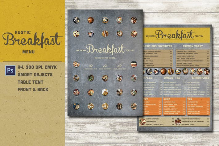Thumbnail for Rustic Breakfast Menu
