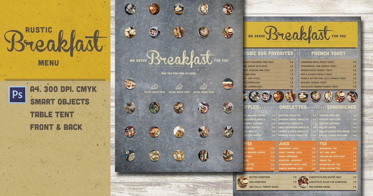 Download Rustic Breakfast Menu by KlapauciusCo