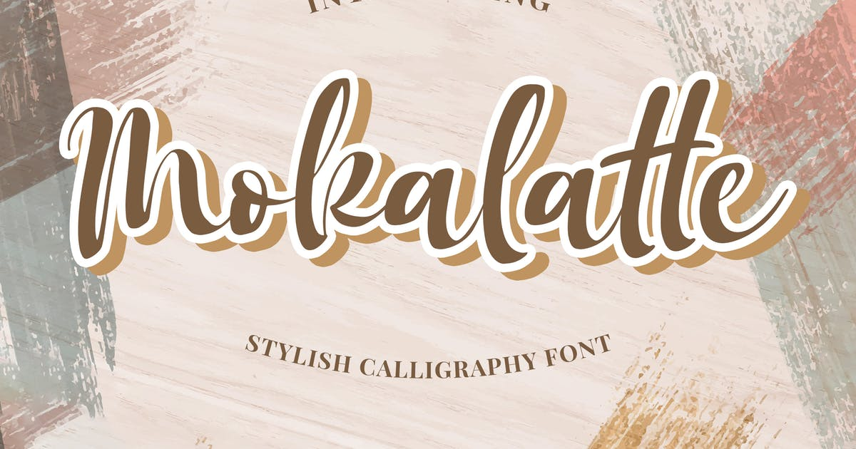 Download Mokalatte - Stylish Script by Alterzone