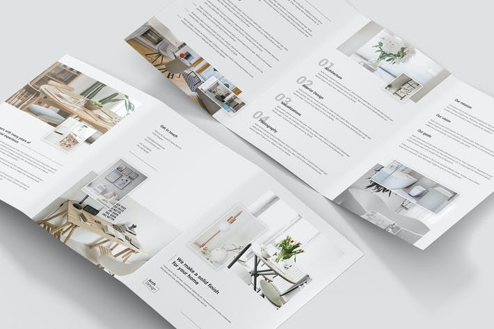 Thumbnail for Brochure – Architectural Studio Tri-Fold A5
