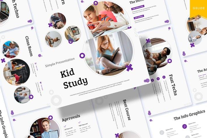 Kid Study | Google Slides Template