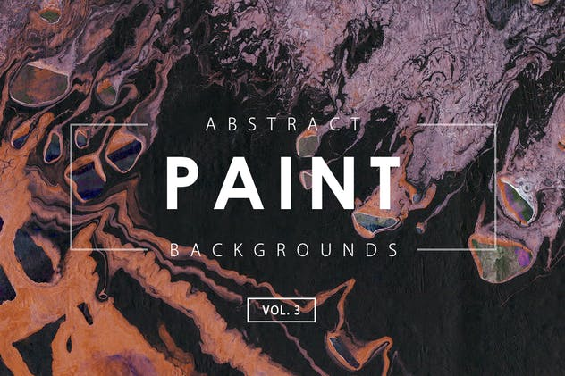 Abstract Paint Backgrounds Vol. 3