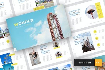 Wonder - Шаблон слайдов ТеТема парк Google