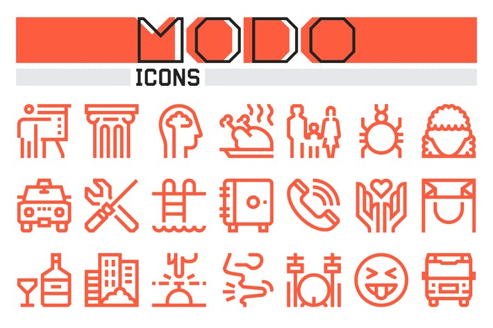 Thumbnail for Modo Icons Collection