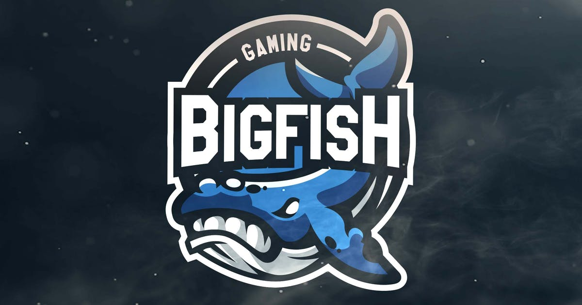 Download Bigfish Gaming Sport and Esports Logos by ovozdigital