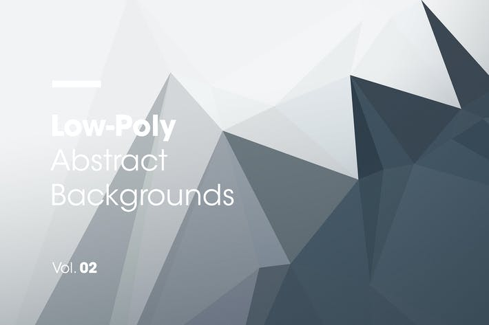 Thumbnail for Low-Poly | Abstract Backgrounds | Vol. 02