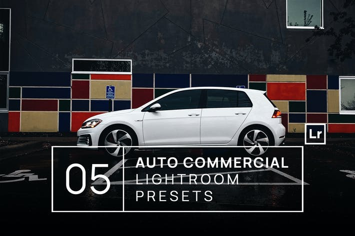 Thumbnail for 5 Auto Commercial Photography Lightroom Presets