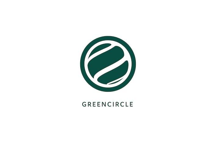 Thumbnail for Green Circle Logo Template