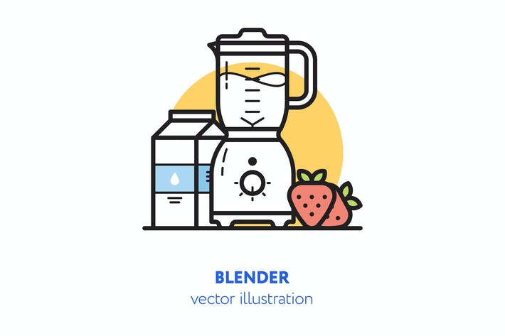Thumbnail for Blender vector illustration