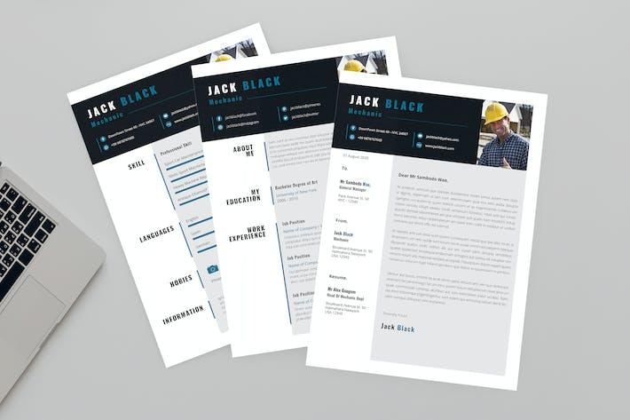 Thumbnail for Sheen CV Resume Designer