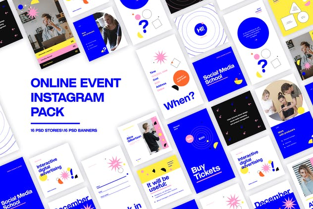 Online Event Instagram Pack