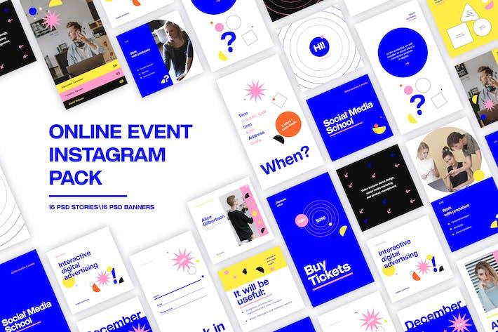 Instagram-Paket für Online-Ereignisse