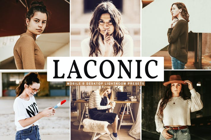 Thumbnail for Laconic Mobile & Desktop Lightroom Presets