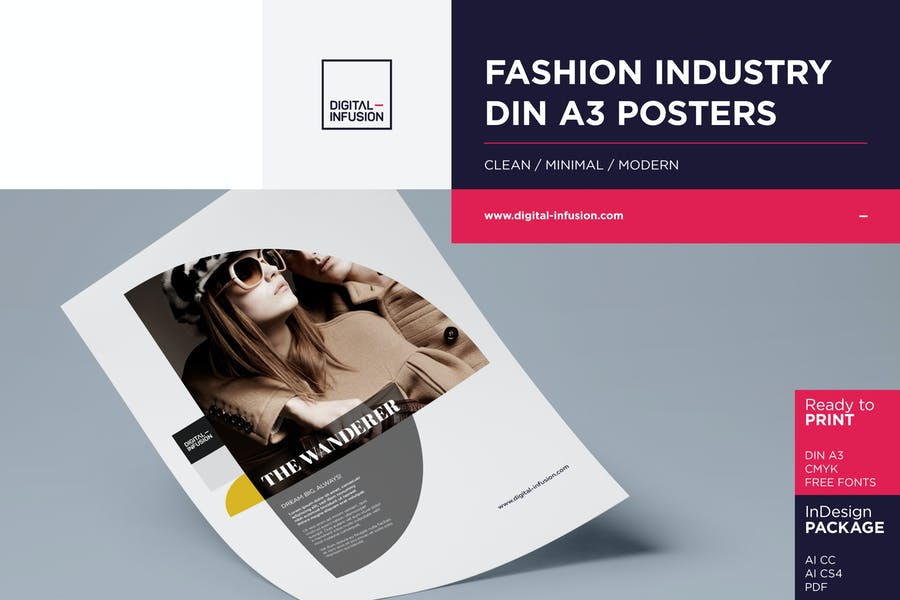 Fashion A3 Posters