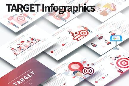 TARGET - Keynote Infographics Slides