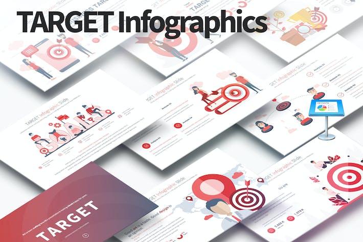 Thumbnail for TARGET - Keynote Infographics Slides