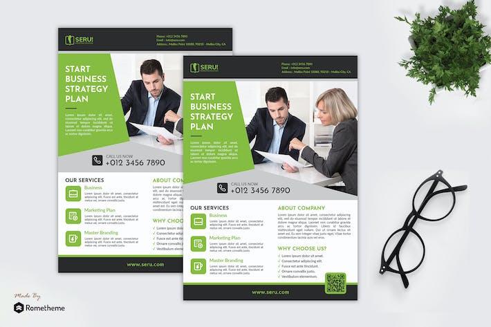 Thumbnail for Seru Marketing Solution - Business Flyer RB