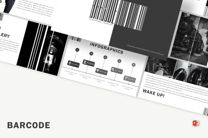 Thumbnail for Barcode - Powerpoint Template