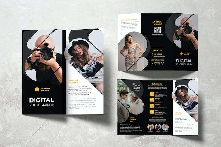 Thumbnail for Digital Photography Studio Trifold Brochure