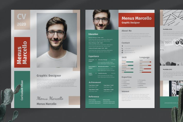 Thumbnail for Clean Resume / CV Portfolio