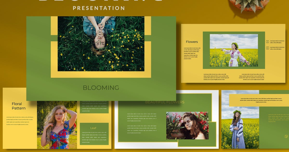 Download Blooming Natural - Creative Powerpoint Template by putra_khan