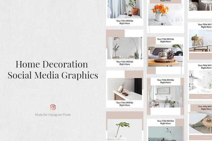 Thumbnail for Home Decoration Instagram Posts