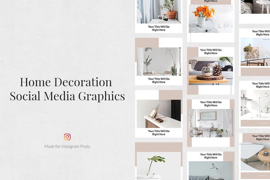 Home Decoration Instagram Posts