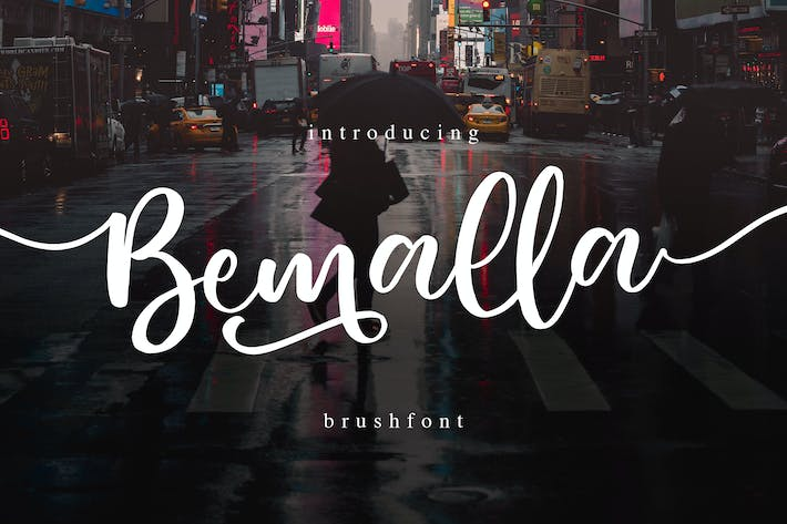 Cover Image For Bemalla Font