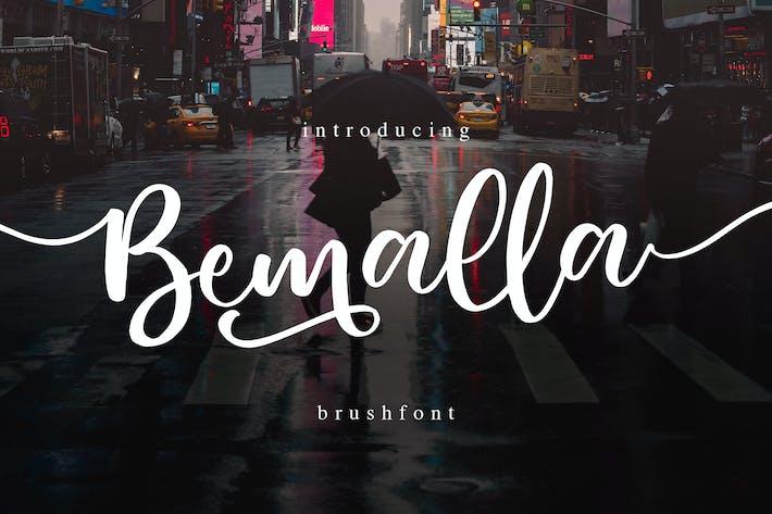 Thumbnail for Bemalla Font