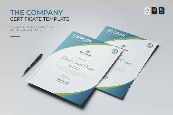 Thumbnail for Company Business | Certificate