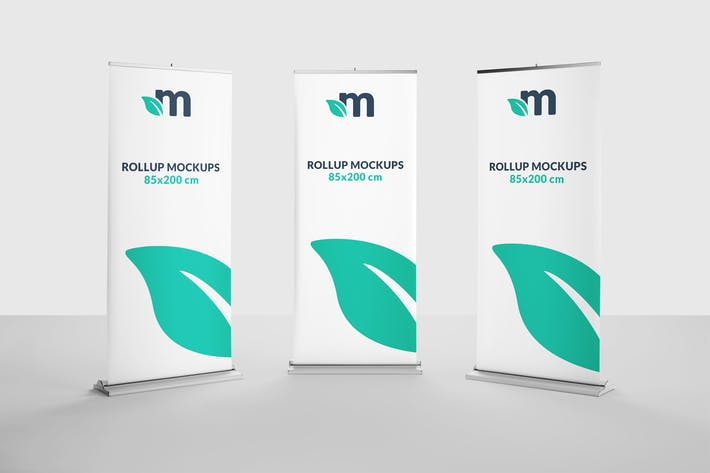 Thumbnail for Roll Up Banner Mockups