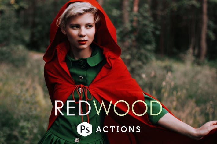 Thumbnail for Redwood Fairytale Photoshop Actions