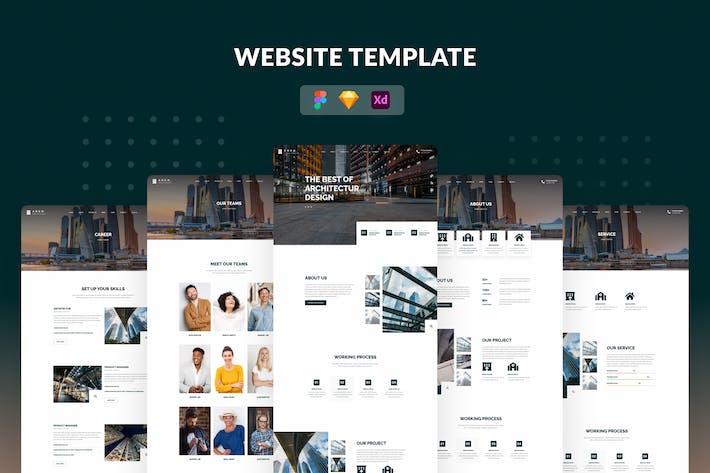 Webseiten-Vorlagen