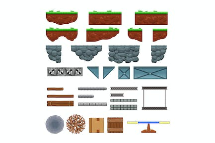 Platforms and Items for Games