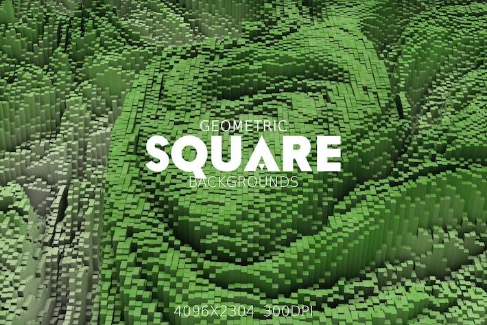 Thumbnail for Geometric Square Backgrounds