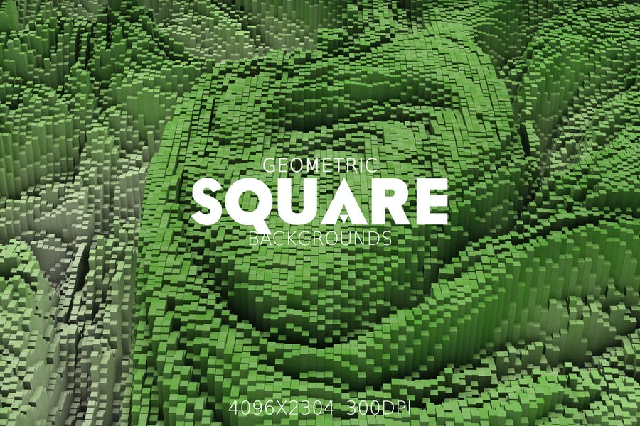 Geometric Square Backgrounds