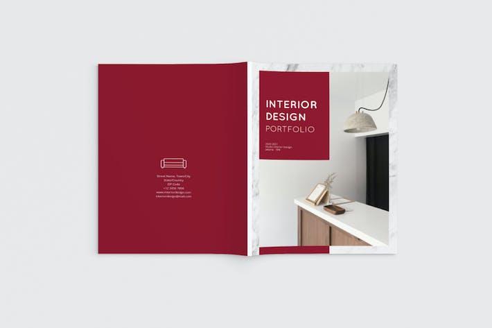 Thumbnail for Interior Design Brochure Magazine