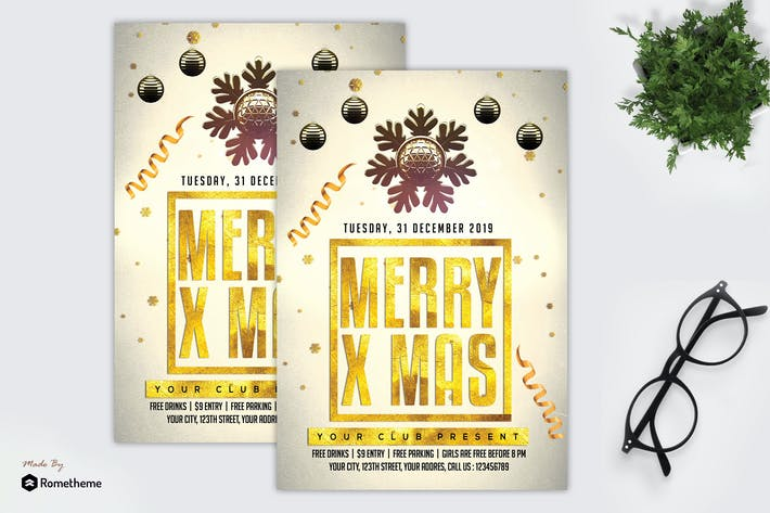 Thumbnail for Christmas Party - Flyer MR