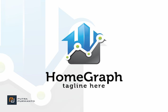 Thumbnail for Home Graph - Logo Template