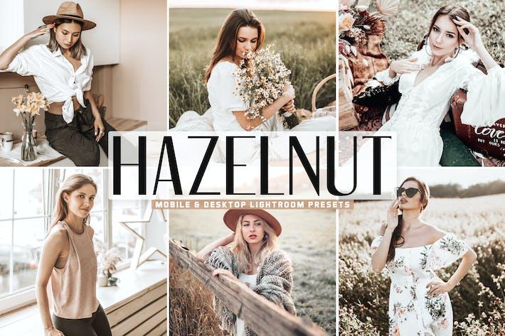 Thumbnail for Hazelnut Mobile & Desktop Lightroom Presets